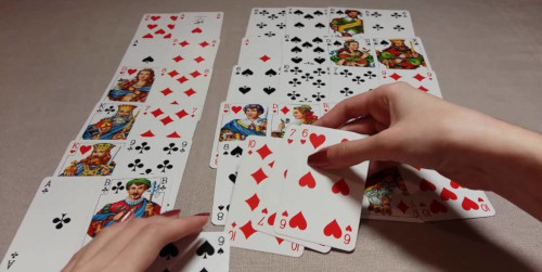 Гадание на верность любимого человека на игральных картах