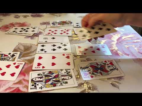 Правдивое гадание на мужчину на картах игральных